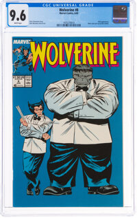 Wolverine #8 (Marvel, 1989) CGC NM+ 9.6 White pages