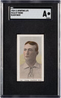 Baseball Cards:Singles (Pre-1930), 1910-11 M116 Sporting Life Cy Young (Black Back) SGC Authe...
