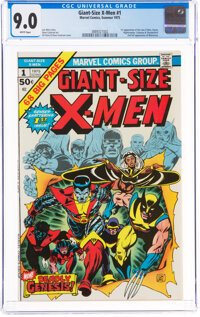 Giant-Size X-Men #1 (Marvel, 1975) CGC VF/NM 9.0 White pages