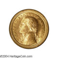 Commemorative Gold: , 1903 G$1 Louisiana Purchase/Jefferson MS66 PCGS. ...