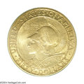 Commemorative Gold: , 1915-S $50 Panama-Pacific 50 Dollar Round MS64 PCGS. One ...