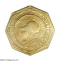 Commemorative Gold: , 1915-S $50 Panama-Pacific 50 Dollar Octagonal MS63 PCGS. ...