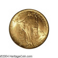 Commemorative Gold: , 1926 $2 1/2 Sesquicentennial MS65 PCGS. Lustrous and well ...