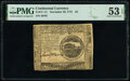 Continental Currency November 29, 1775 $4 PMG About Uncirculated 53 EPQ