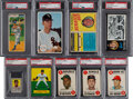 Baseball Cards:Lots, 1951-1971 Topps Inserts and Novelty Issues PSA-Graded Coll...