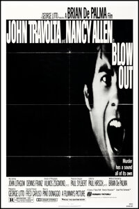 """Blow Out (Filmways, 1981). Folded, Fine/Very Fine. One Sheet (27"""" X 41"""") & Lobby Card Set of 8 (11"""" X..."""