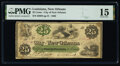 New Orleans, LA- City of New Orleans 25¢ Oct. 24, 1862 PMG Choice Fine 15