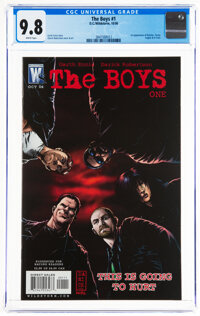The Boys #1 (DC/Wildstorm, 2006) CGC NM/MT 9.8 White pages
