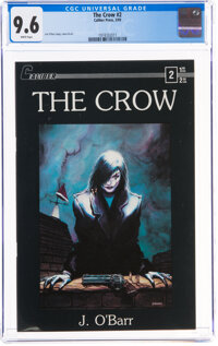 The Crow #2 (Caliber Press, 1989) CGC NM+ 9.6 White pages