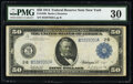 Fr. 1030 $50 1914 Federal Reserve Note PMG Very Fine 30