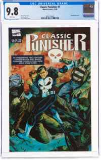 Classic Punisher #1 (Marvel, 1989) CGC NM/MT 9.8 White pages