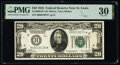 Fr. 2050-H* $20 1928 Federal Reserve Star Note. PMG Very Fine 30