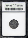 Bust Dimes: , 1809 Fine12 ANACS. The current Coin Dealer Newsletter (...