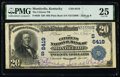 Monticello, KY - $20 1902 Plain Back Fr. 650 The Citizens National Bank Ch. # (S)6419 PMG Very Fine 25