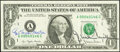 Azie Taylor Morton and G. William Miller Dual Courtesy Autographed Fr. 1909-A $1 1977 Federal Reserve Note. Crisp Uncirc...