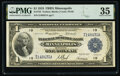 Fr. 734 $1 1918 Federal Reserve Bank Note PMG Choice Very Fine 35