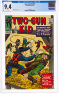 Silver Age (1956-1969):Western, Two-Gun Kid #83 (Marvel, 1966) CGC NM 9.4 White pages....
