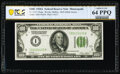 Fr. 2151-I $100 1928A Federal Reserve Note. PCGS Banknote Choice Unc 64 PPQ