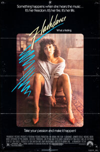 """Flashdance & Other Lot (Paramount, 1983). Folded, Fine/Very Fine. One Sheets (2) (27"""" X 41"""") & (26.5&q..."""