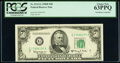 Fr. 2112-G $50 1950E Federal Reserve Note. PCGS Choice New 63PPQ