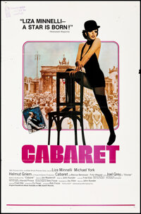 """Cabaret (Allied Artists, 1972). Folded, Very Fine-. International & Review Style One Sheets (2) (27"""" X 41""""..."""