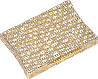 Van Cleef & Arpels Gold Compact, French