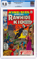 Bronze Age (1970-1979):Western, Rawhide Kid Annual #1 (Marvel, 1971) CGC VF/NM 9.0 White pages....