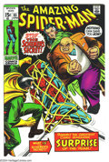 Bronze Age (1970-1979):Superhero, Amazing Spider-Man #85 (Marvel, 1970) Condition: VF/NM. The Kingpin returns, and teams with the Schemer to entrap Spidey. Ov...