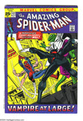 Bronze Age (1970-1979):Superhero, Amazing Spider-Man #102 (Marvel, 1971) Condition: VF. 52-page issue. Spidey vs. the Lizard and Morbius the Living Vampire. O...