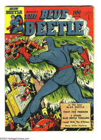Blue Beetle #33 (Fox Features Syndicate, 1944) Condition: VG+. Overstreet 2003 VG 4.0 value = $54