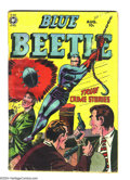 Golden Age (1938-1955):Superhero, Blue Beetle #60 (Fox Features Syndicate, 1950) Condition: GD. Last Fox issue. Spine has tape inside and out. Overstreet 2003...