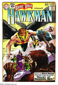 The Brave and the Bold #35 (DC, 1961) Condition: VG. Featuring Hawkman. Joe Kubert art. Overstreet 2003 VG 4.0 value = $...