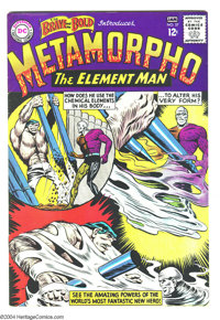 The Brave and the Bold #57-58 Group (DC, 1964-65) Condition: Average VF. Origin and first appearance of Metamorpho in #5...