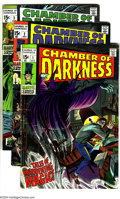 Bronze Age (1970-1979):Horror, Chamber of Darkness Group (Marvel, 1969-70) Condition: Average VG.This group encompasses the title's full run (#1-8 and Spe...(Total: 10 Comic Books Item)