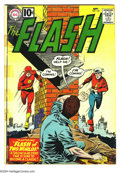 Silver Age (1956-1969):Superhero, The Flash #123 (DC, 1961) Condition: GD/VG. Overstreet 2003 GD 2.0 value = $109; VG 4.0 value = $218....