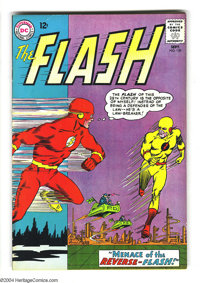 The Flash #139 (DC, 1963) Condition: FN/VF. Overstreet 2003 FN 6.0 value = $36; VF 8.0 value = $89