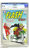 Silver Age (1956-1969):Superhero, The Flash #152 (DC, 1965) CGC NM 9.4 Off-white to white pages. Carmine Infantino and Murphy Anderson art. To date, only two ...