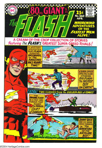 The Flash #160 (DC, 1966) Condition: VF. Overstreet 2003 VF 8.0 value = $84