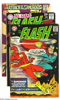 The Flash Group (DC, 1967-68) Condition: VG/FN. This group includes #175, 178, 181, 183, 186, 188, and 189. Overstreet 2...
