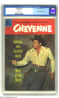 Silver Age (1956-1969):Western, Four Color #772 Cheyenne (Dell, 1957) CGC NM 9.4 Off-white to whitepages. Clint Walker photo cover. Overstreet 2003 NM 9.4 ...