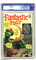 Silver Age (1956-1969):Superhero, Golden Records Reprints nn Fantastic Four #1 (Golden Records, 1966) CGC VF/NM 9.0 White pages. Jack Kirby art. Not including...