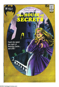 House of Secrets #89 (DC, 1971) Condition: NM-. Art by Gray Morrow. Overstreet 2003 NM 9.4 value = $32