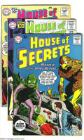 Silver Age (1956-1969):Mystery, House of Secrets Group (DC, 1960s) Condition: VG+. This groupincludes #40, 43-43, 45, and 49. Overstreet 2003 value for gro...(Total: 5 Comic Books Item)