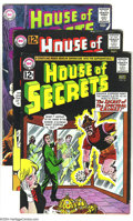 Silver Age (1956-1969):Mystery, House of Secrets Group (DC, 1960s) Condition: VG+. The firstappearance of Eclipso is the highlight of this group, which inc...(Total: 6 Comic Books Item)