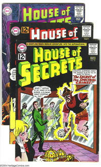 House of Secrets Group (DC, 1960s) Condition: VG+. The first appearance of Eclipso is the highlight of this group, which...
