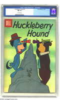 Silver Age (1956-1969):Cartoon Character, Huckleberry Hound #9 (Dell, 1961) CGC NM 9.4 Off-white pages. Overstreet 2003 NM 9.4 value = $80....
