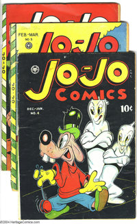 Jo-Jo Comics Issues #4-6 Group (Fox Features Syndicate, 1946-47). Funny Animal comics. Overstreet 2003 value for group =...