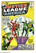 Silver Age (1956-1969):Superhero, Justice League of America #4 (DC, 1961) Condition: VG. Green Arrow joins the group in this issue. Overstreet 2003 VG 4.0 val...