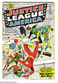 Silver Age (1956-1969):Superhero, Justice League of America #5 (DC, 1961) Condition: VG. Overstreet 2003 VG 4.0 value = $62....