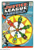 Silver Age (1956-1969):Superhero, Justice League of America #6 (DC, 1961) Condition: VG. Overstreet 2003 VG 4.0 value = $58. From the White Rose Collection....